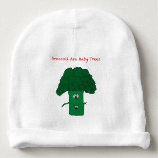 el bróculi es árboles del bebé gorrito para bebe