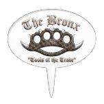 El Bronx - nudillos de cobre amarillo claveteados Figuras Para Tartas