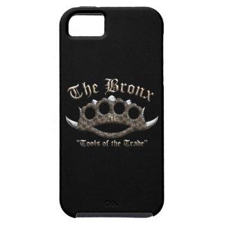 El Bronx - nudillos de cobre amarillo claveteados Funda Para iPhone SE/5/5s