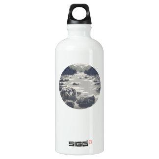 'El Brook gris Botella De Agua