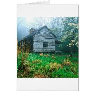 El brote de la montaña Ogles Tennessee ahumado Tarjeta De Felicitación