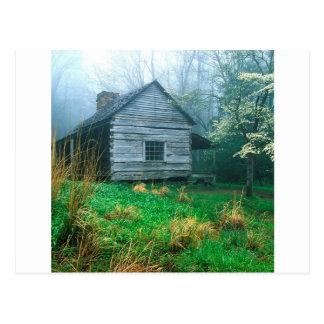 El brote de la montaña Ogles Tennessee ahumado Tarjetas Postales