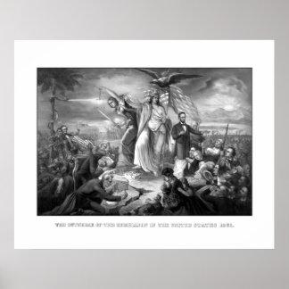 El brote de la rebelión -- Guerra civil Póster