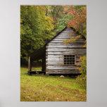 El brote Ogle la casa, nacional de Great Smoky Mou Posters