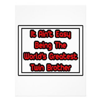 Él Brother gemelo más grande… del mundo fácil de A Tarjetones