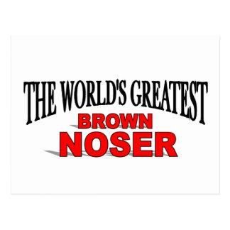 El Brown más grande Noser del mundo Postales