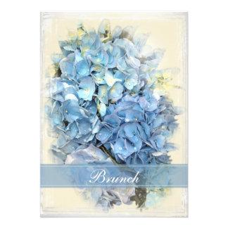El brunch azul del boda del poste de la flor del H Comunicados