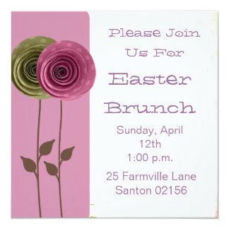 El brunch de Pascua invita Invitaciones Personales