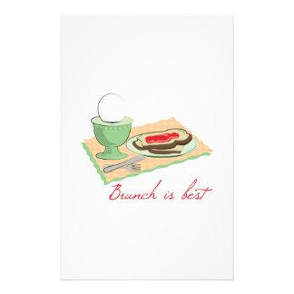 El brunch es el mejor  papeleria de diseño