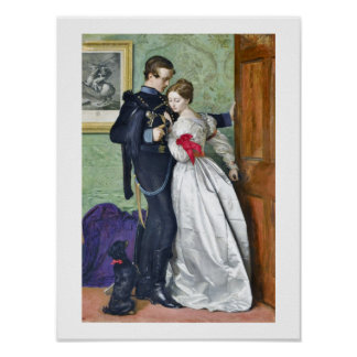 """El Brunswicker negro"" por Millais Póster"