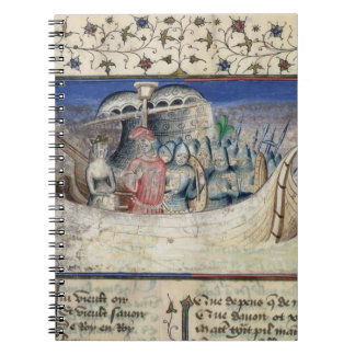 El Brutus el Trojan fija la vela para Gran Bretaña Libros De Apuntes Con Espiral