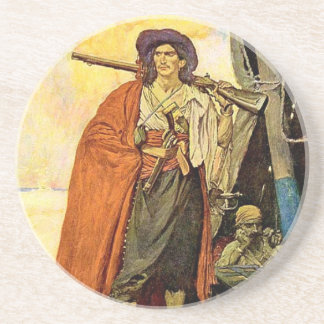 El Bucanero - arte del pirata Posavaso Para Bebida
