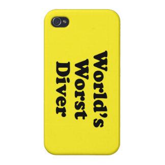 El buceador peor del mundo iPhone 4/4S funda