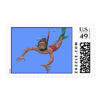 El bucear sellos