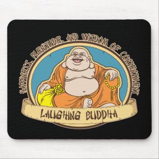 El Buda de risa Alfombrilla De Ratones