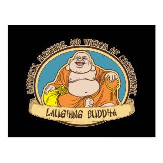 El Buda de risa Tarjeta Postal
