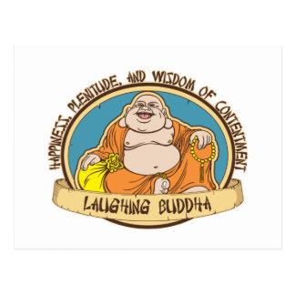 El Buda de risa Tarjetas Postales