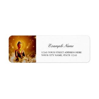 El Buda Etiqueta De Remitente