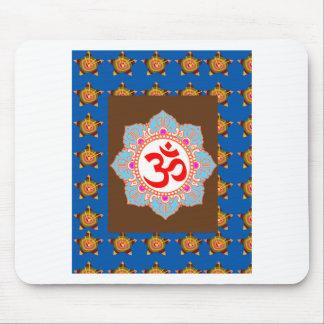 El Buddhism del Hinduism del templo del arte del Alfombrilla De Ratón