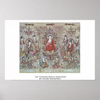 El Budha de enseñanza Sakyamuni de Chang Sheng-Wen Impresiones