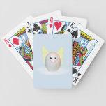 El buen ángel del huevo baraja cartas de poker