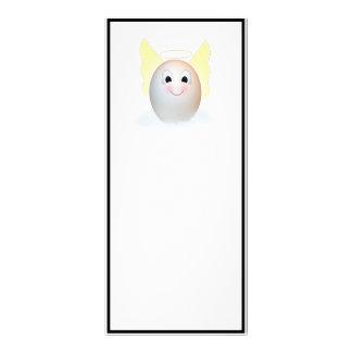 El buen ángel del huevo plantilla de lona