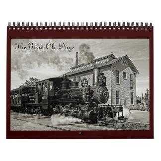 El buen calendario viejo de los días