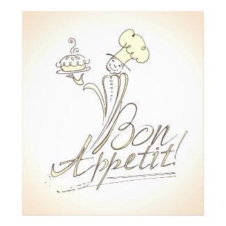 ¡El buen cocinero dice el Bon Appetit! Cojinete