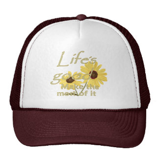 El buen gorra de la vida