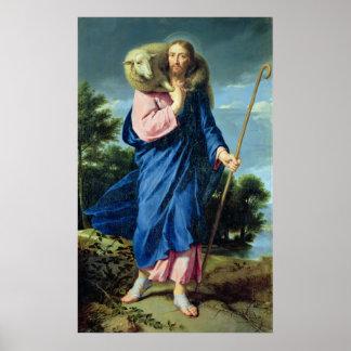 El buen pastor, c.1650-60 poster