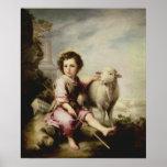 El buen pastor, c.1650 impresiones