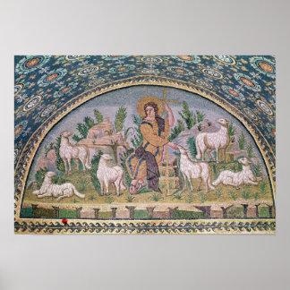 El buen pastor póster