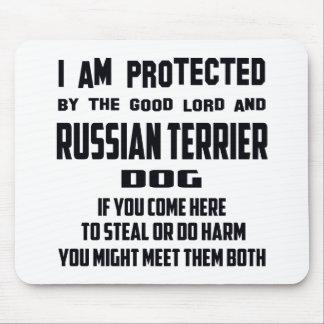 El buen perro de Terrier del señor me protejo y Alfombrillas De Ratones