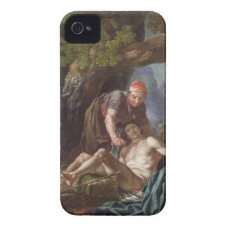 El buen samaritano, c.1751-52 (aceite en lona) iPhone 4 Case-Mate protectores