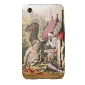 El buen samaritano, de una biblia impresa por iPhone 3 Case-Mate fundas