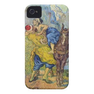 El buen samaritano de Vincent Willem Van Gogh Case-Mate iPhone 4 Cobertura