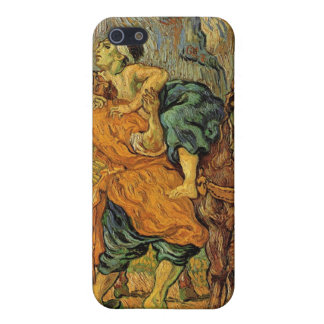 El buen samaritano después de Delacroix de Van Gog iPhone 5 Fundas