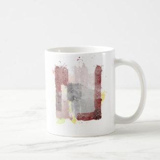 """El bueno el malo y la idea [detalle """"idea""""] taza de café"""