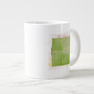 """El bueno el malo y la idea [detalle """"malo""""] taza de café gigante"""