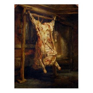 El buey matado, 1655 tarjetas postales