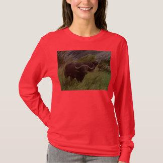 El búfalo africano playera