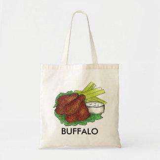 El búfalo, ala de pollo del búfalo de Nueva York