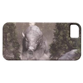 El búfalo blanco iPhone 5 cárcasas