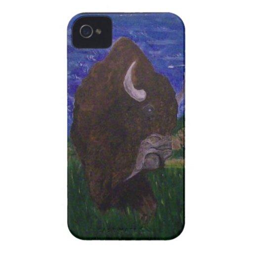 El búfalo iPhone 4 carcasas