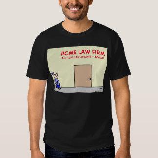 el bufete de abogados todo usted puede litigar polera