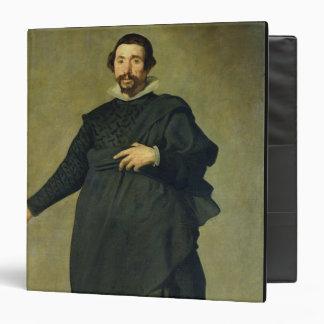 """El bufón, Pablo de Valladolid, c.1635 (aceite en c Carpeta 1 1/2"""""""