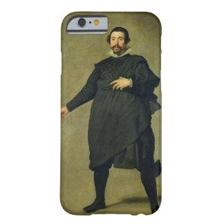 El bufón, Pablo de Valladolid, c.1635 (aceite en c Funda Para iPhone 6 Barely There