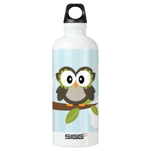 El búho azul BPA libera