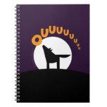 EL BUHO BOO - Lobo Spiral Notebook