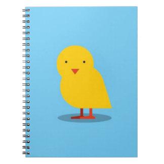 EL BUHO BOO - Pollito Spiral Notebooks